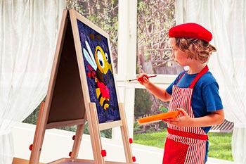 cavalletto pittura per bambini